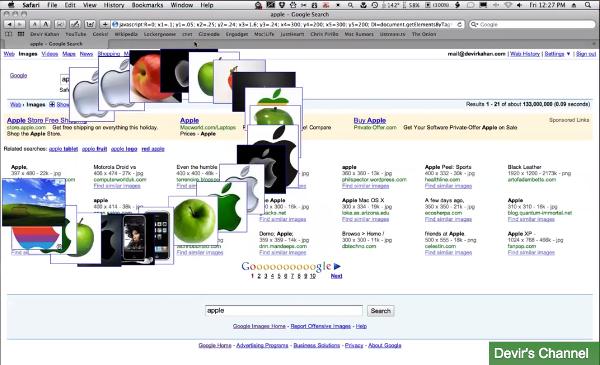 dancing google