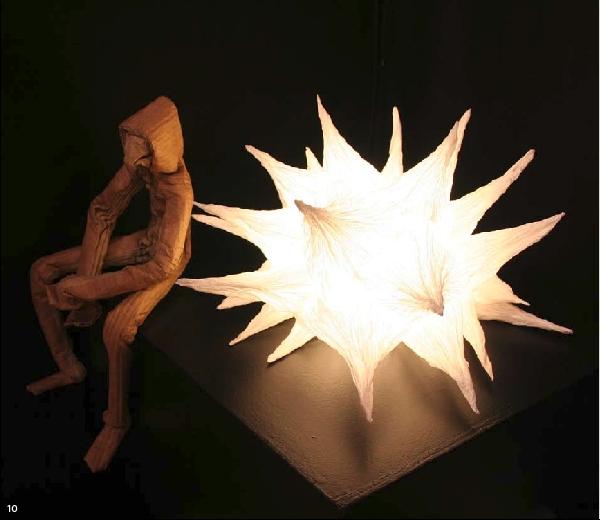 Illuminated sculptures