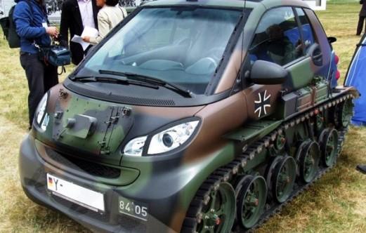 a Smart tank