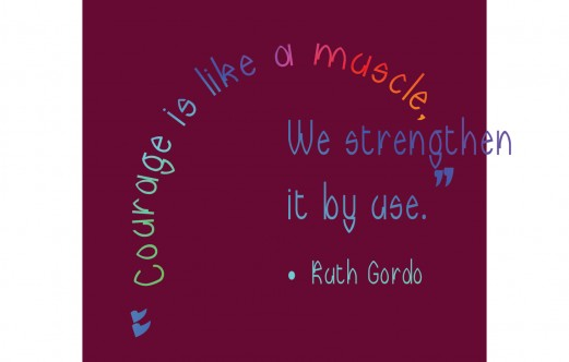 2- WallArt-Courage-RuthGordo