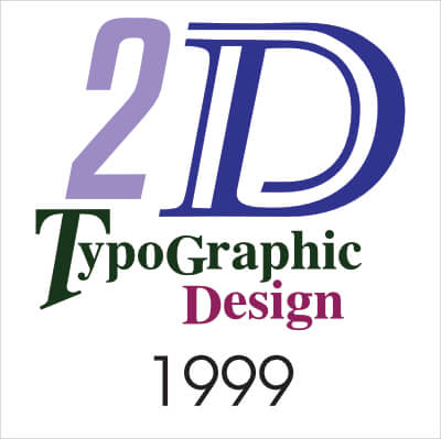 2D Graphic Design 1999