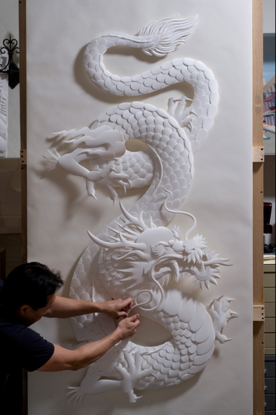 D paper sculpture by jeff nishinaka « graphic design