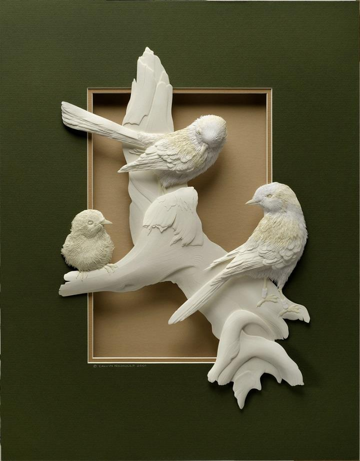 2b- Calvin-Nicholls-paper-sculptures